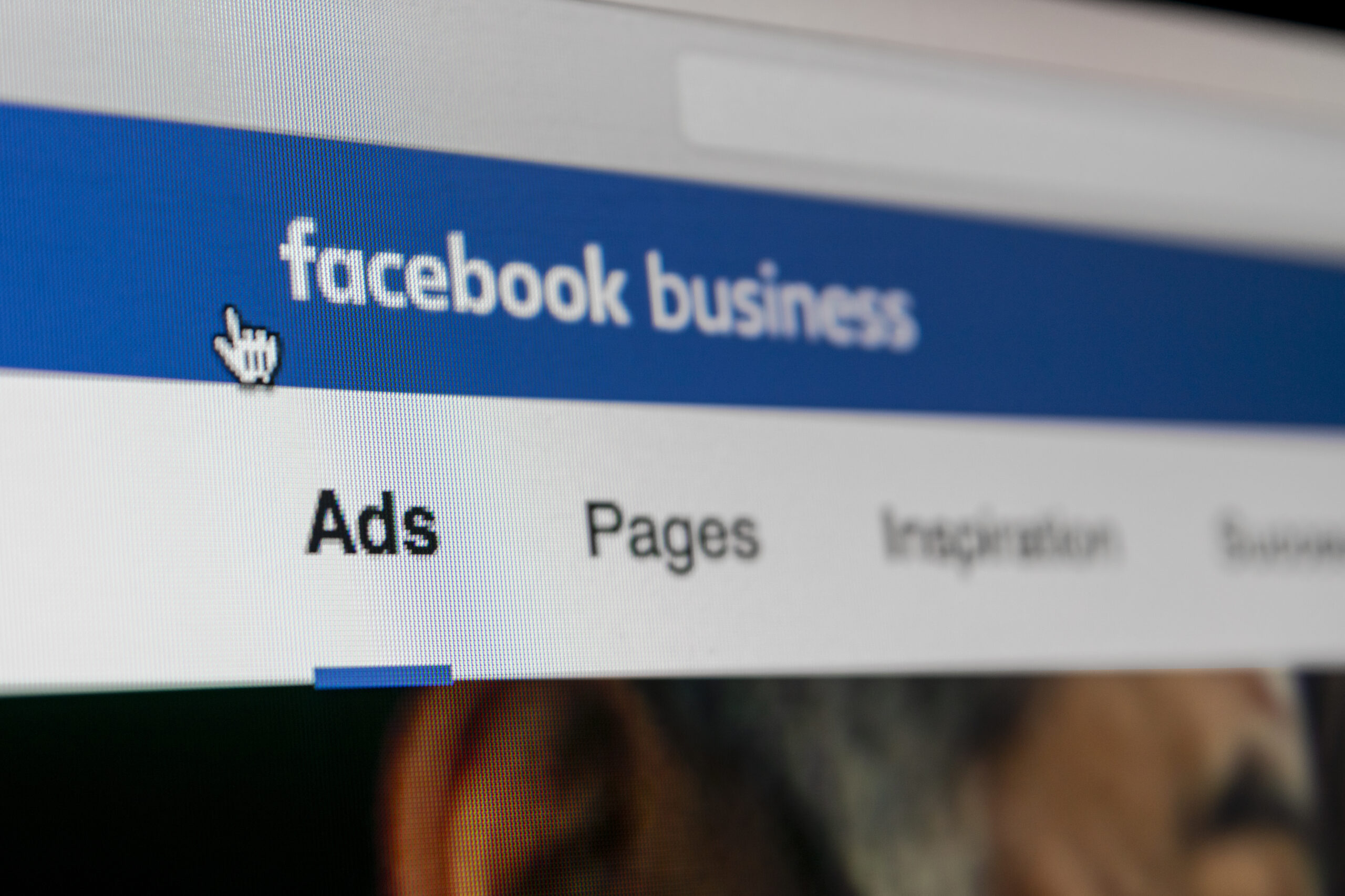 Business sets up a page on Facebook in order to better interact and engage with customers.