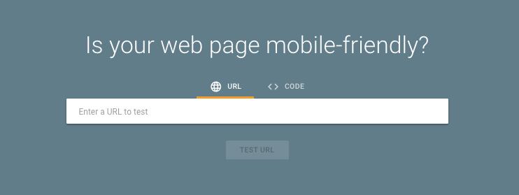 Mobile Friendly Website Tool