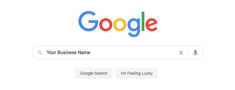 Google Business Name