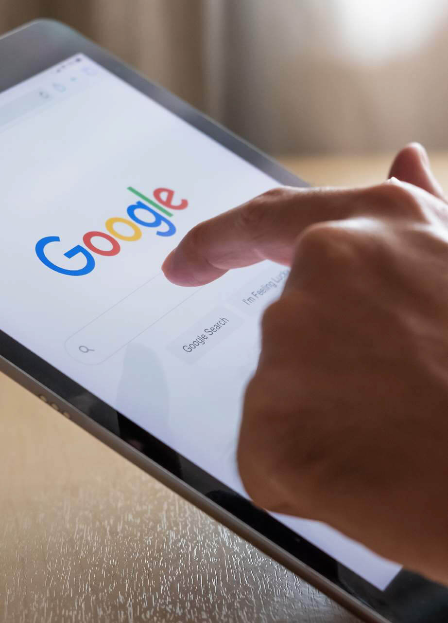 Searching the web with google